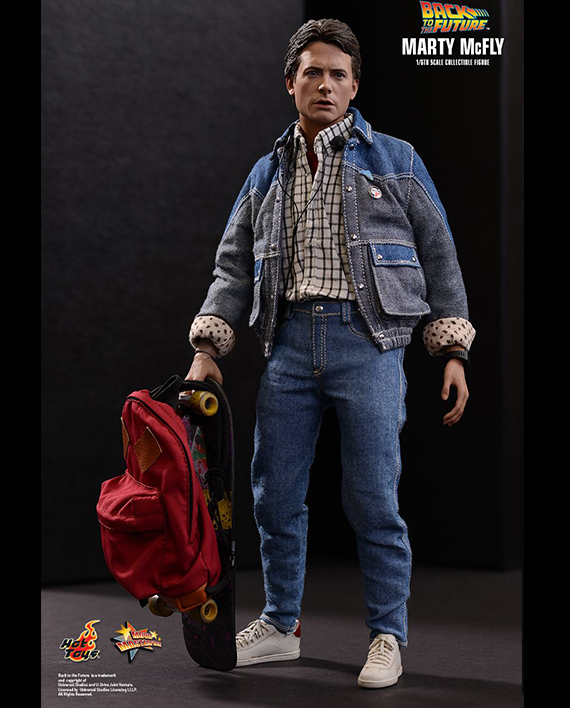 Marty mcfly 1 6 figure curation